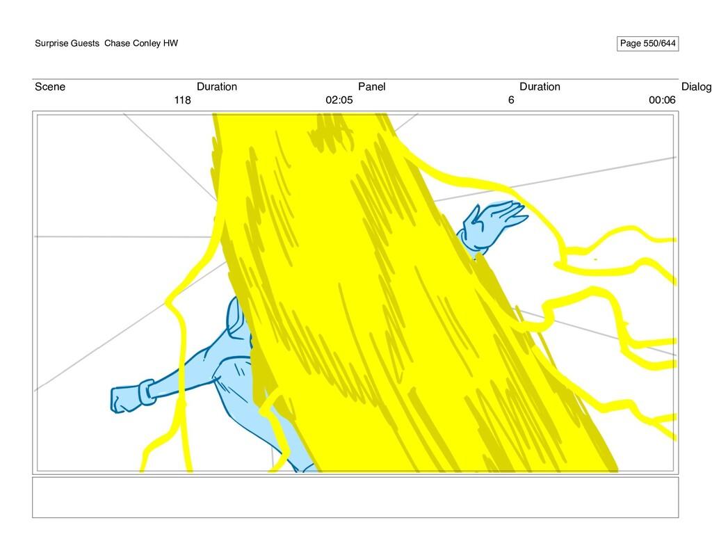 Scene 118 Duration 02:05 Panel 6 Duration 00:06...