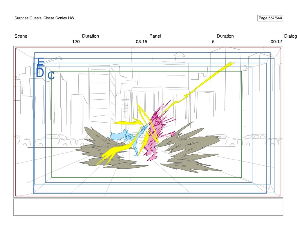 Scene 120 Duration 03:15 Panel 5 Duration 00:12...