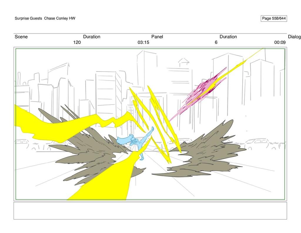Scene 120 Duration 03:15 Panel 6 Duration 00:09...