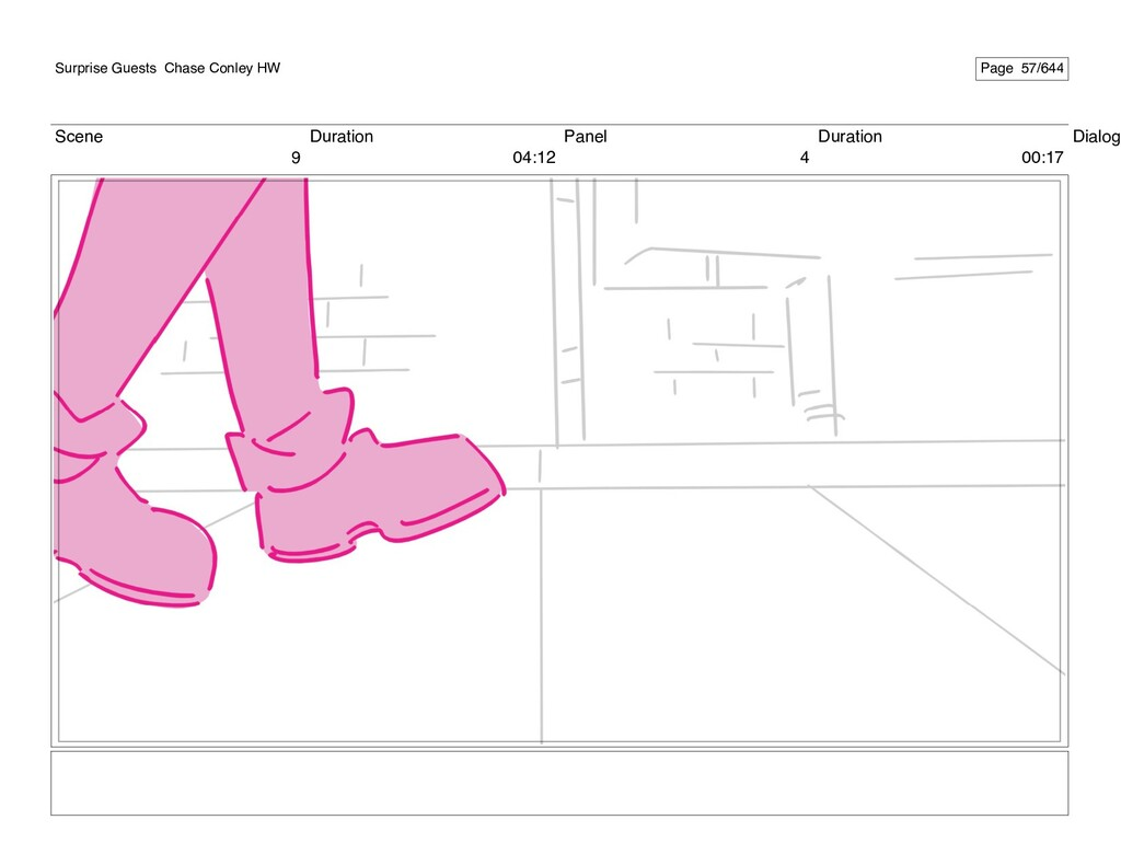 Scene 9 Duration 04:12 Panel 4 Duration 00:17 D...