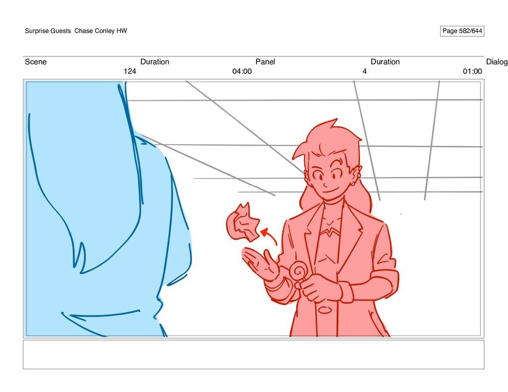 Scene 124 Duration 04:00 Panel 4 Duration 01:00...