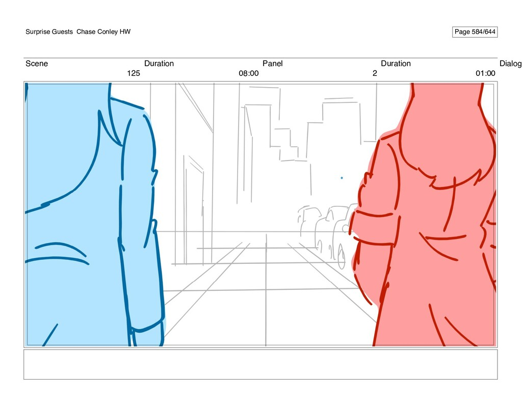 Scene 125 Duration 08:00 Panel 2 Duration 01:00...