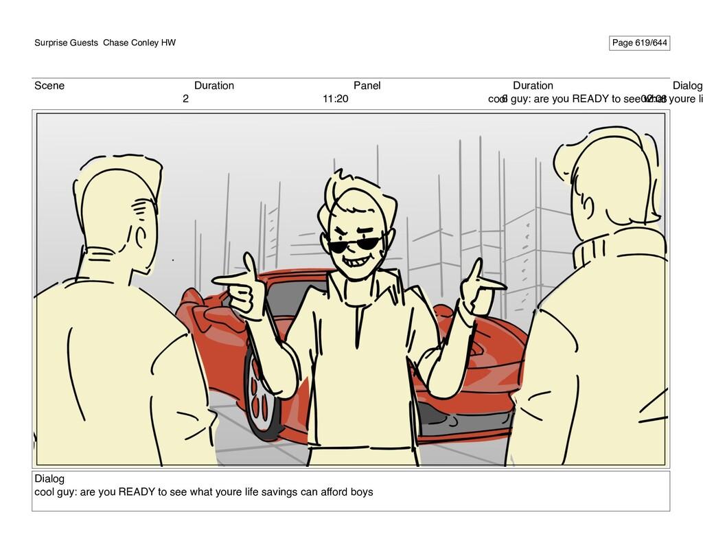 Scene 2 Duration 11:20 Panel 6 Duration 02:08 D...