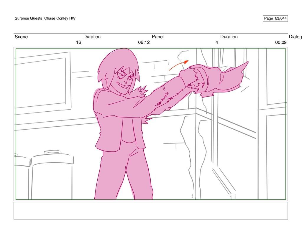 Scene 16 Duration 06:12 Panel 4 Duration 00:09 ...
