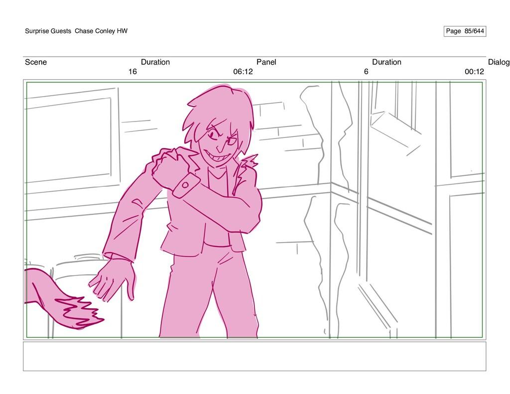 Scene 16 Duration 06:12 Panel 6 Duration 00:12 ...