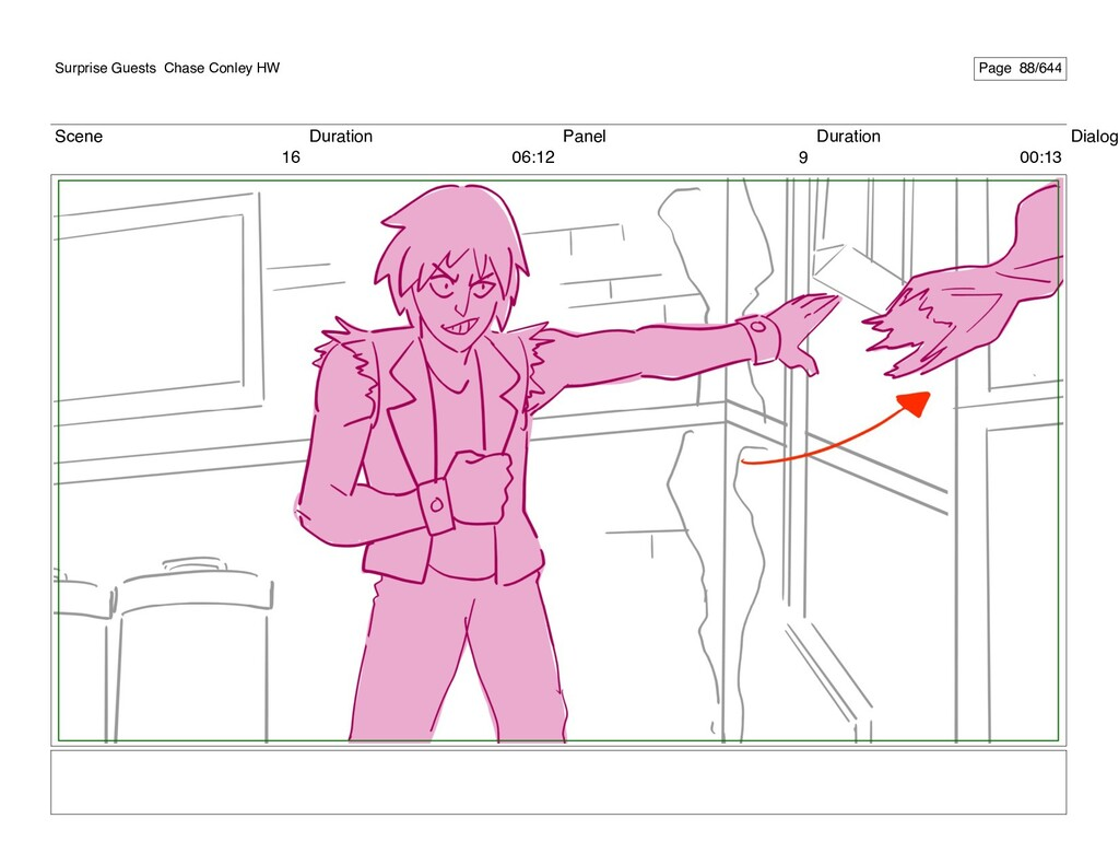 Scene 16 Duration 06:12 Panel 9 Duration 00:13 ...