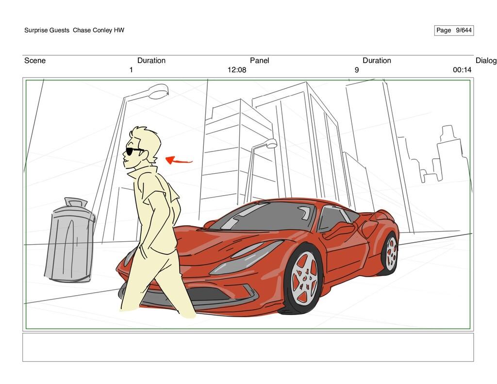 Scene 1 Duration 12:08 Panel 9 Duration 00:14 D...