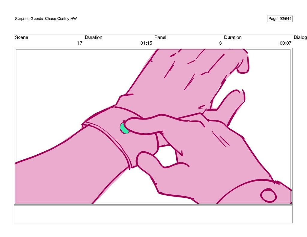 Scene 17 Duration 01:15 Panel 3 Duration 00:07 ...