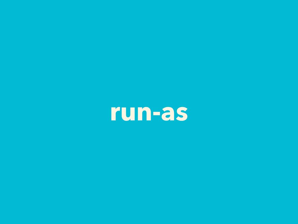 run-as