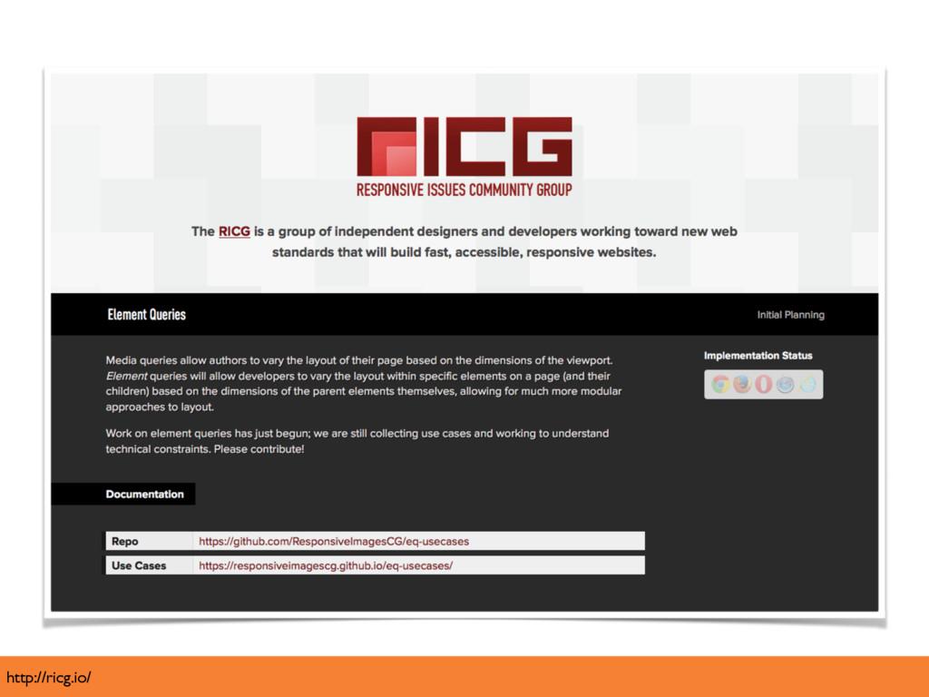 http://ricg.io/