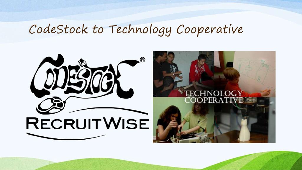 CodeStock to Technology Cooperative