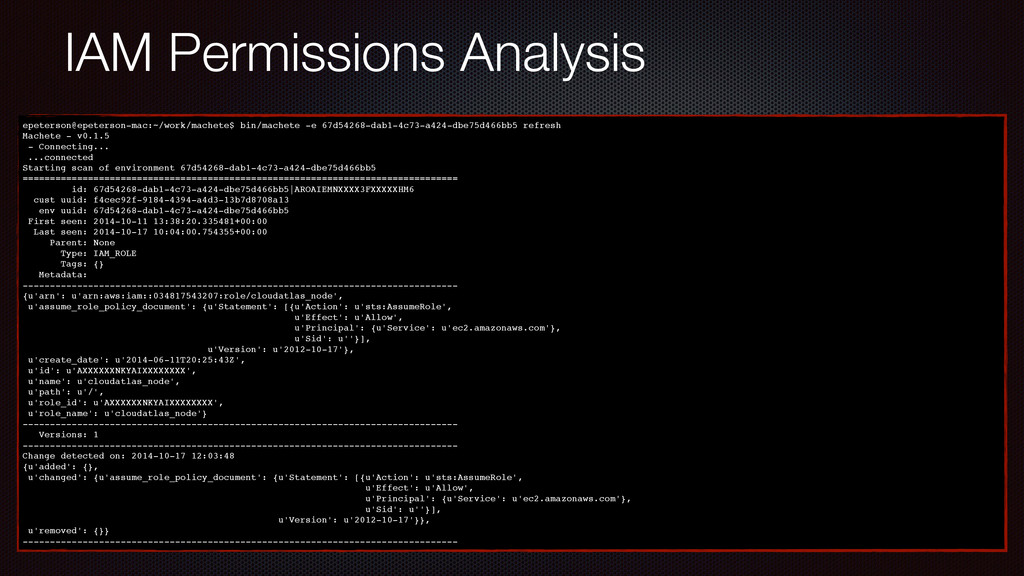 IAM Permissions Analysis epeterson@epeterson-ma...