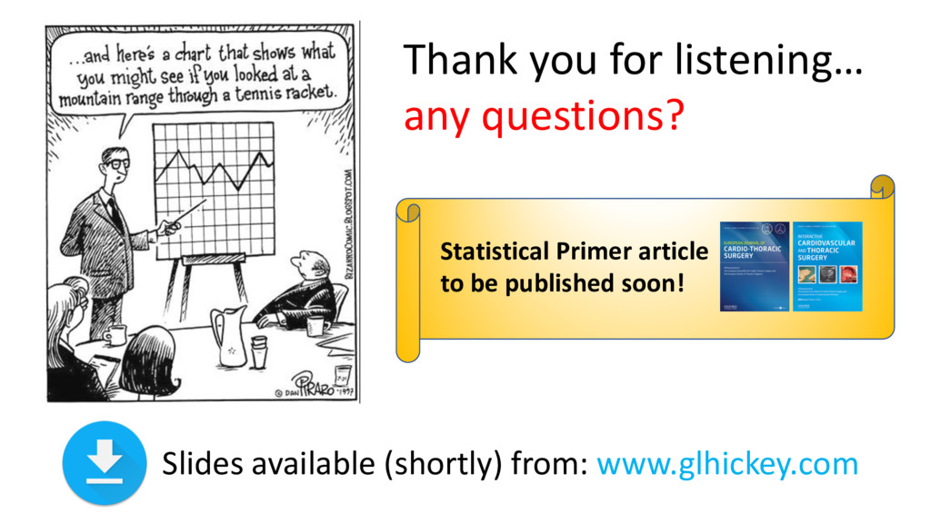 Thank you for listening… any questions? Slides ...