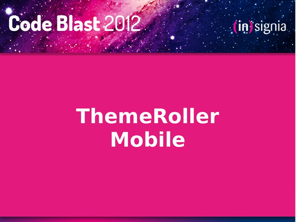 ThemeRoller Mobile