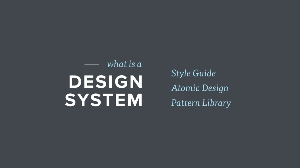 DESIGN SYSTEM what is a Pattern Library Atomic ...