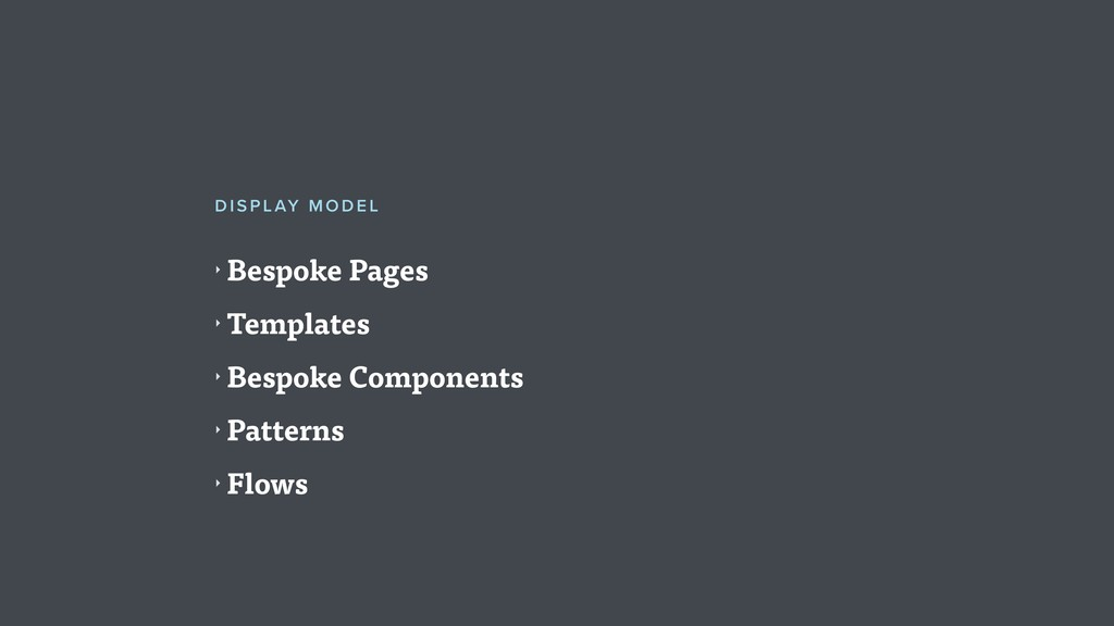 ‣ Bespoke Pages ‣ Templates ‣ Bespoke Component...