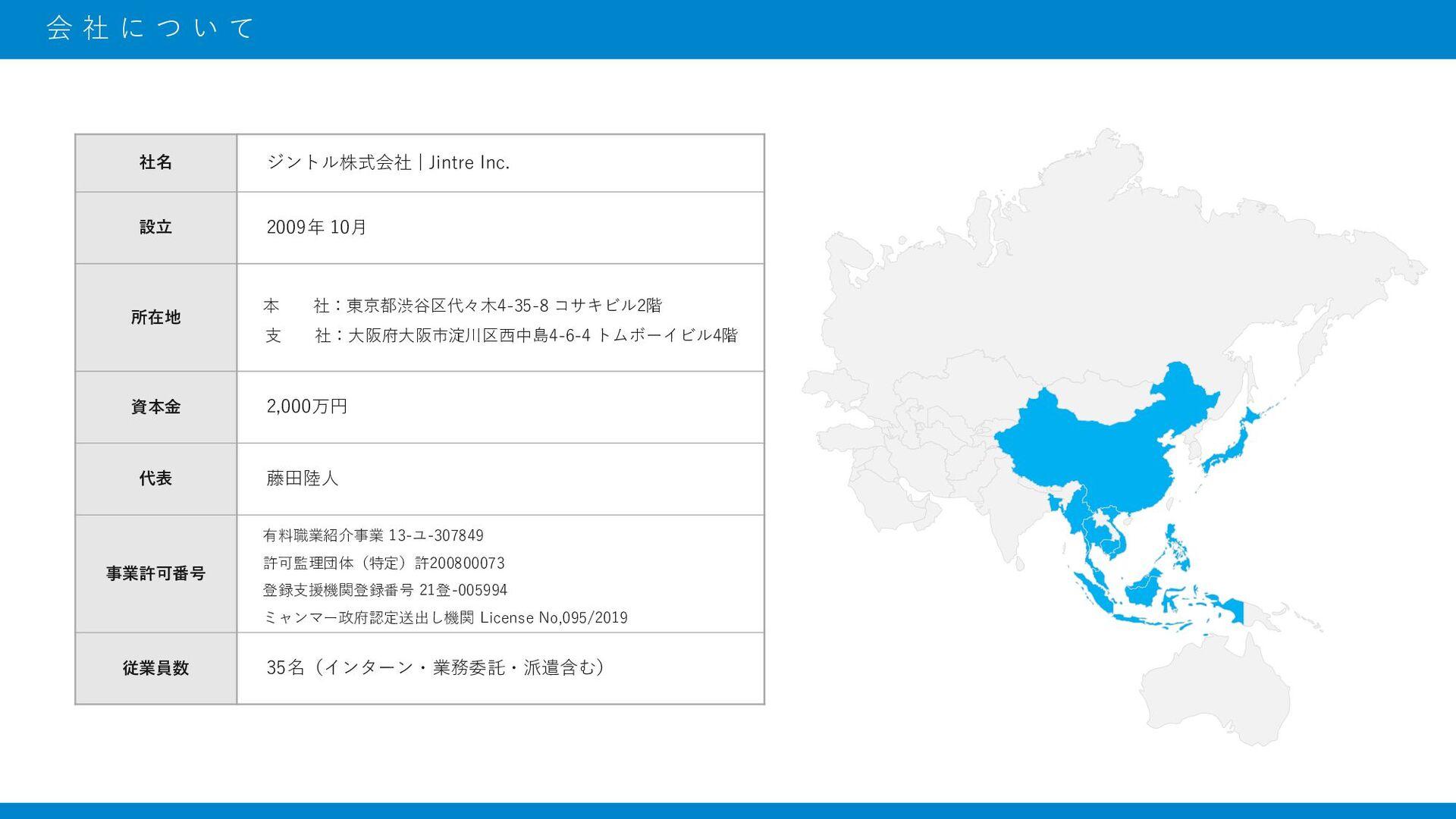 1 2 3 4 5 会社について MISSION/VISION/VALUE 採用担当の紹介 事...