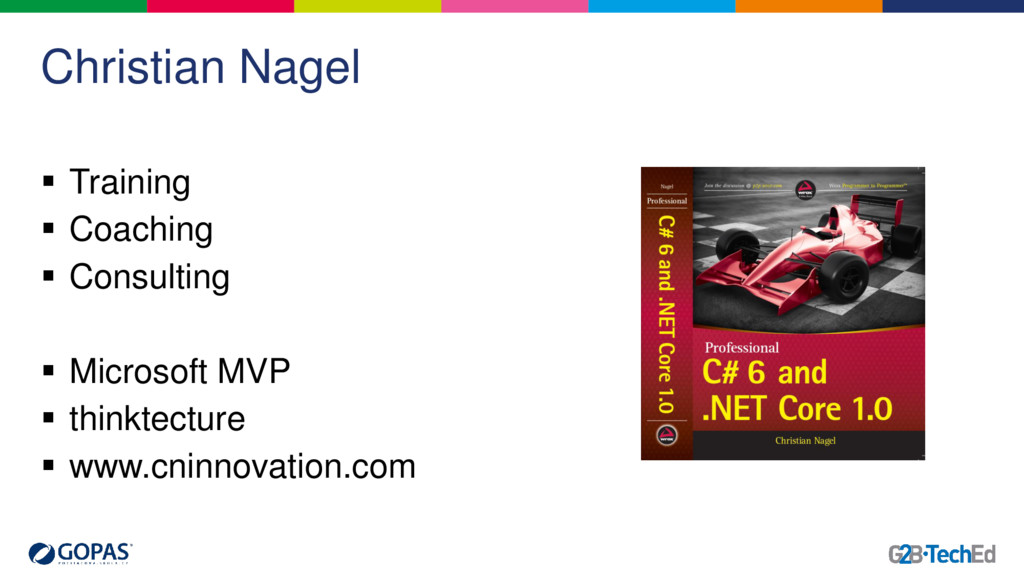Christian Nagel  Training  Coaching  Consult...