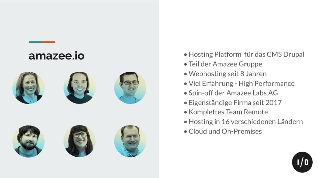 amazee.io • Hosting Platform für das CMS Drupal...