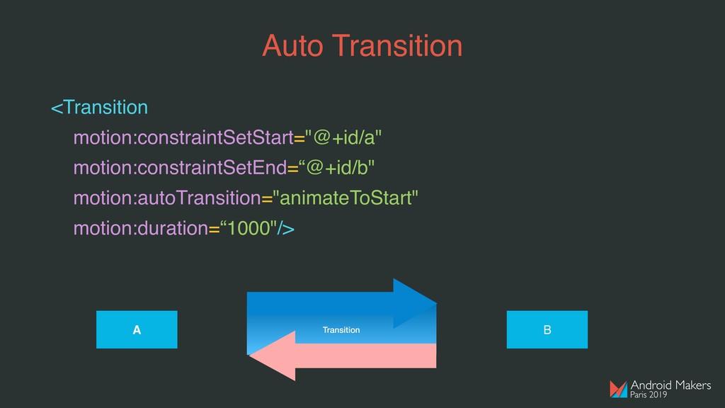 "<Transition motion:constraintSetStart=""@+id/a"" ..."