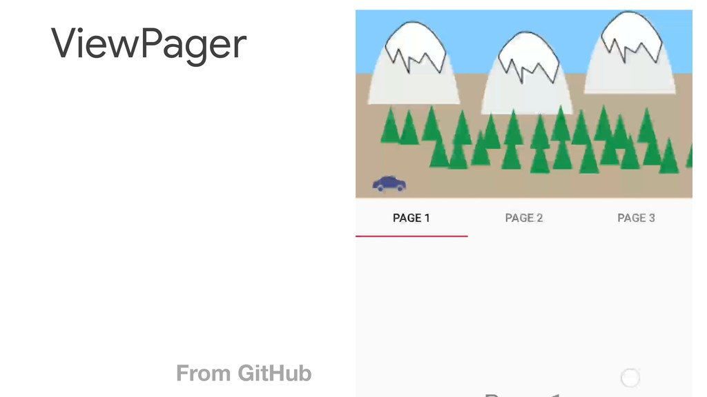 ViewPager From GitHub