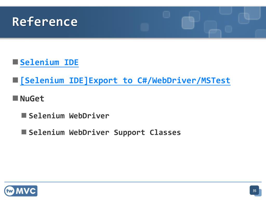  Selenium IDE  [Selenium IDE]Export to C#/Web...