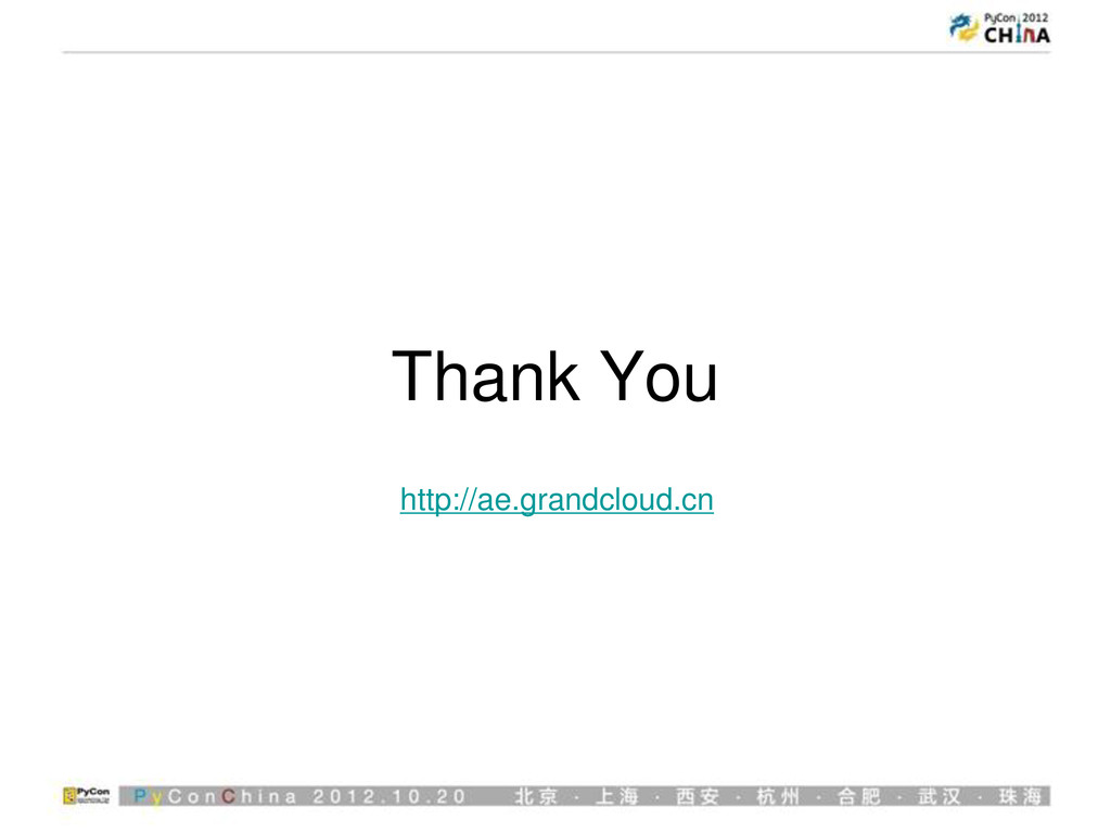 Thank You http://ae.grandcloud.cn