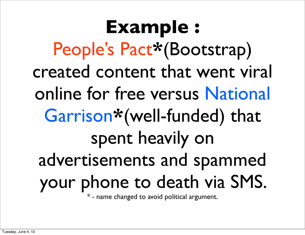 Example : People's Pact*(Bootstrap) created con...