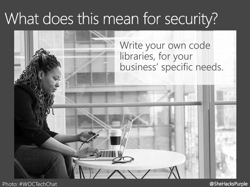 @SheHacksPurple Photo: #WOCTechChat Write your ...