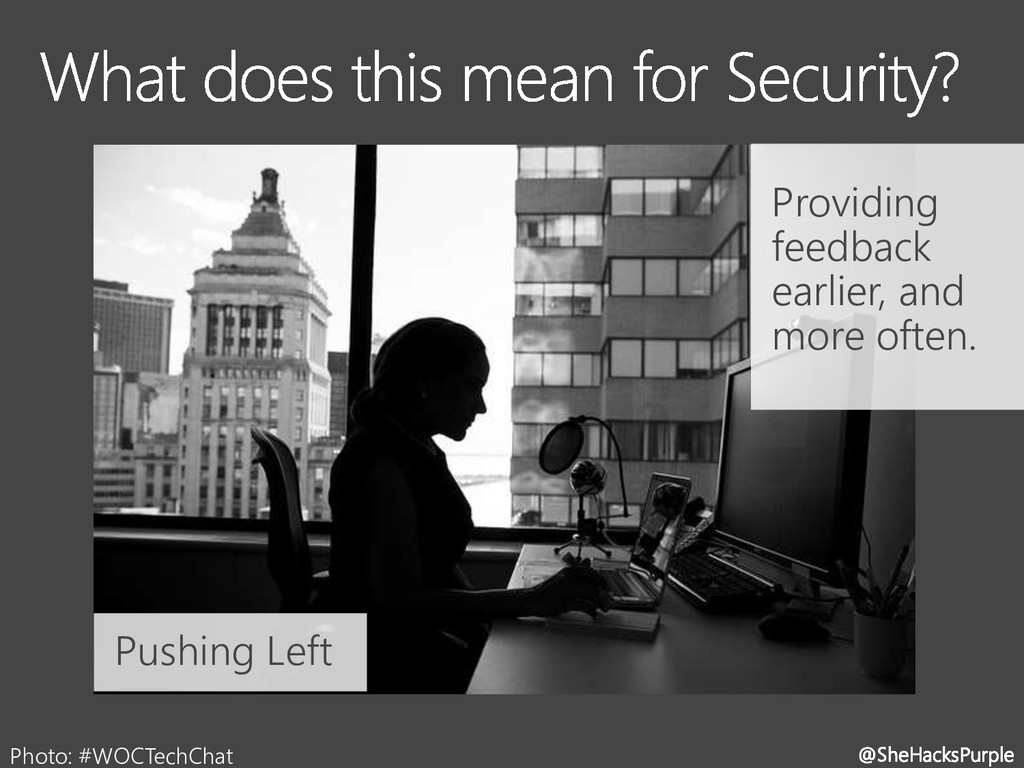 @SheHacksPurple Photo: #WOCTechChat Providing f...