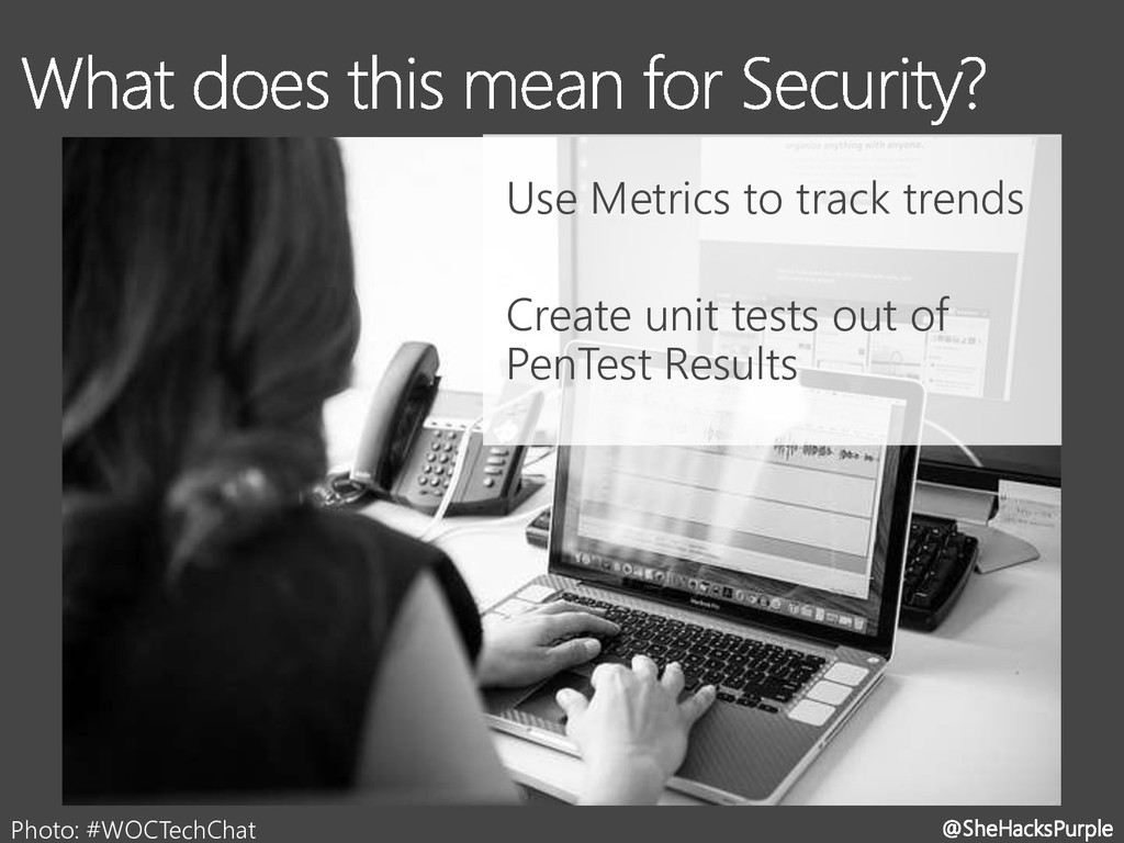 @SheHacksPurple Photo: #WOCTechChat Use Metrics...