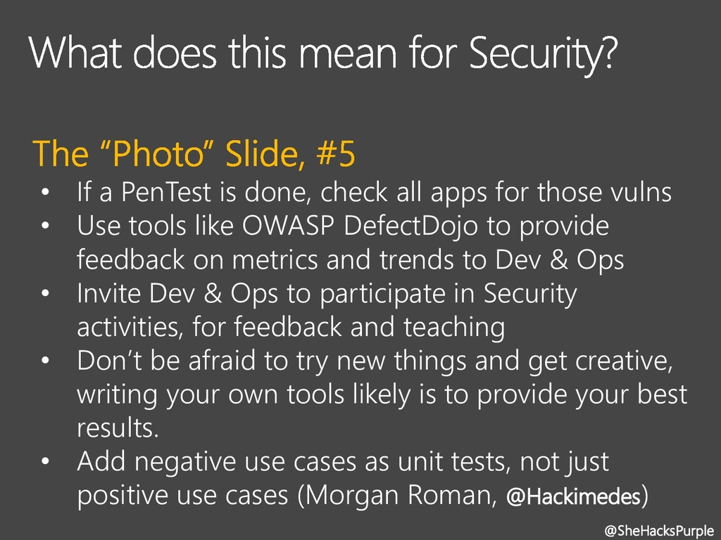 • If a PenTest is done, check all apps for thos...