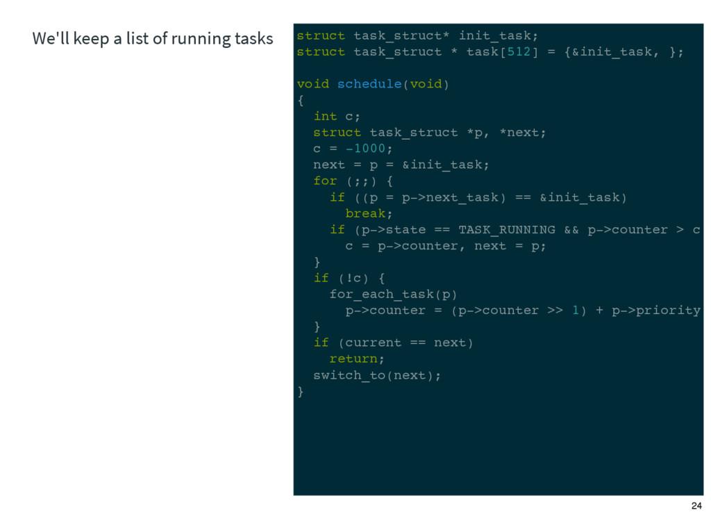 struct task_struct* init_task; struct task_stru...