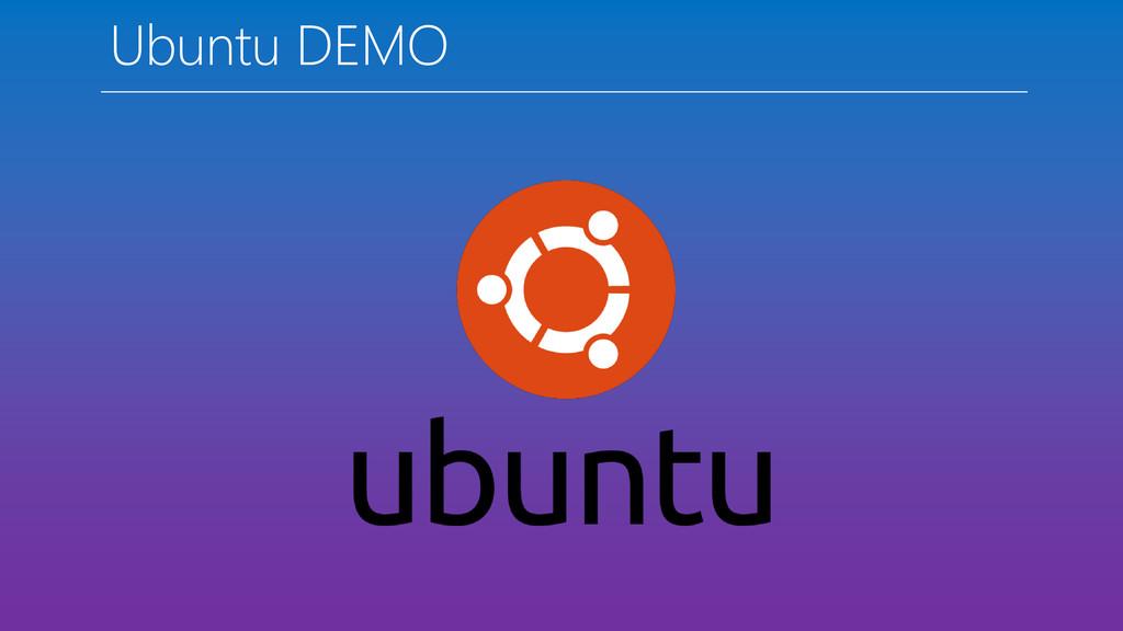Ubuntu DEMO