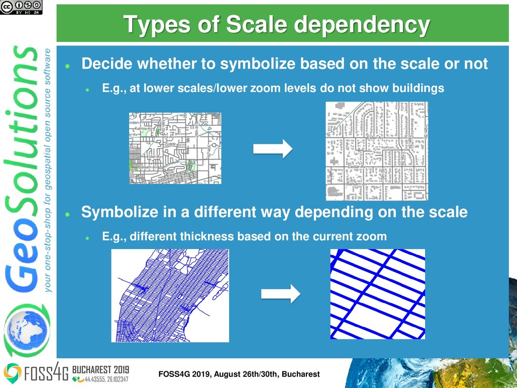 Types of Scale dependency ⚫ Decide whether to s...