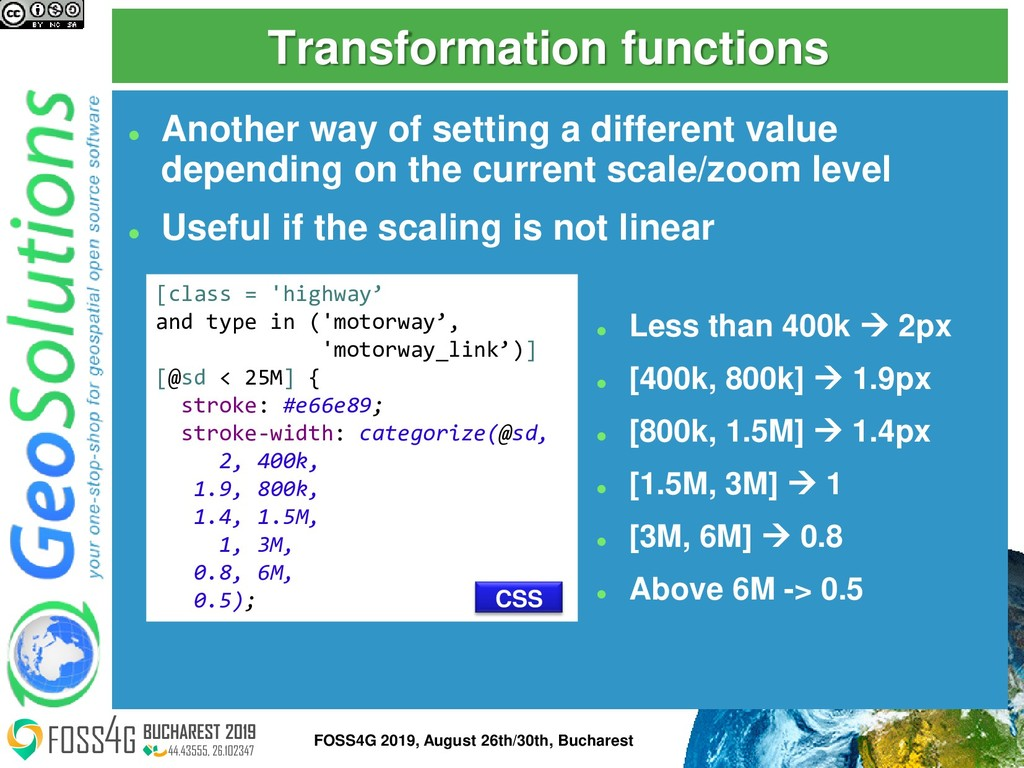 Transformation functions ⚫ Another way of setti...