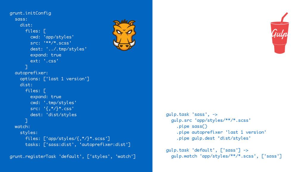 gulp.task 'sass', -> gulp.src 'app/styles/**/*....