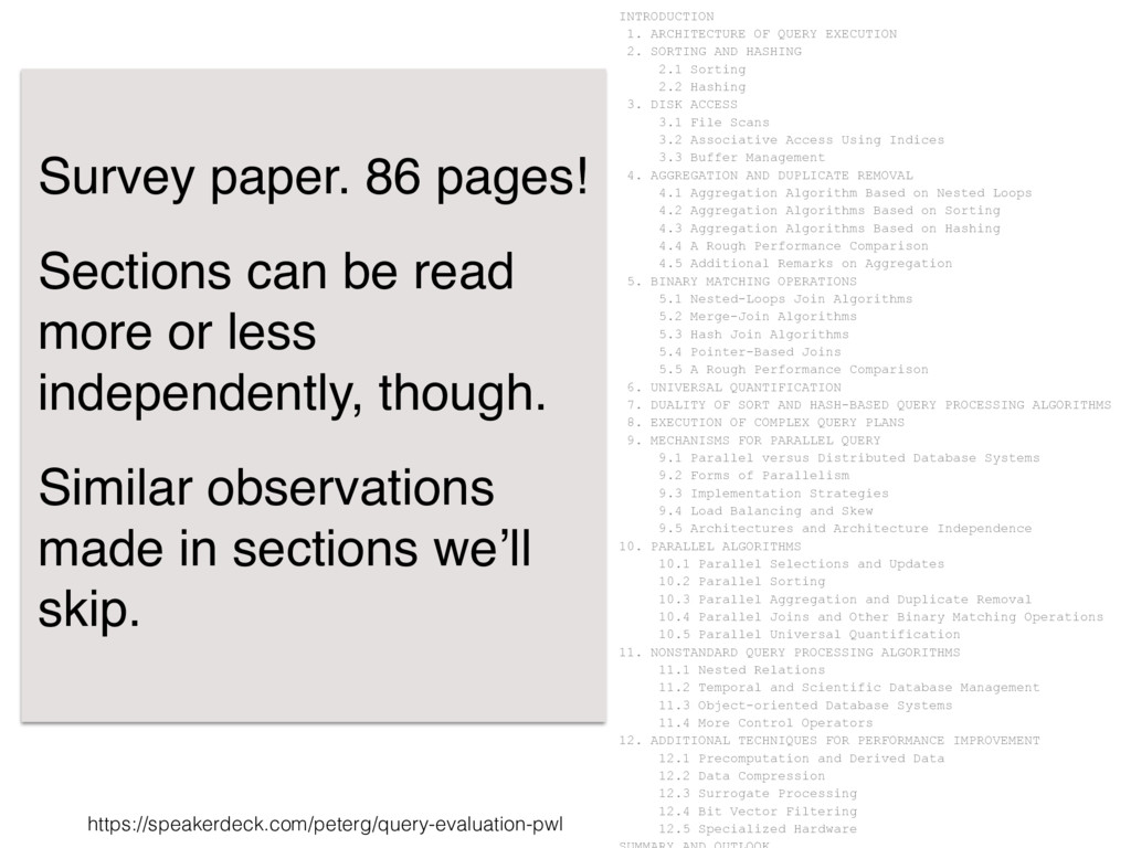 https://speakerdeck.com/peterg/query-evaluation...