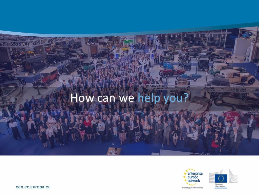 een.ec.europa.eu How can we help you?