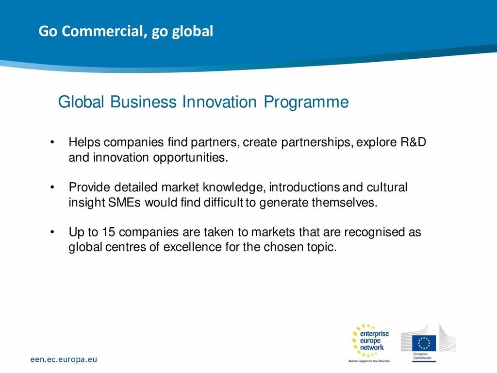 een.ec.europa.eu • Helps companies find partner...