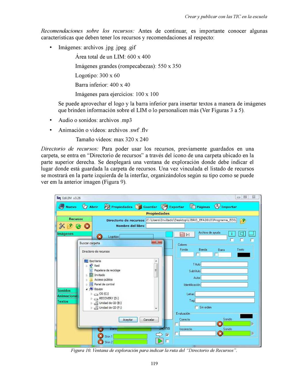 Crear y publicar con las TIC en la escuela Reco...