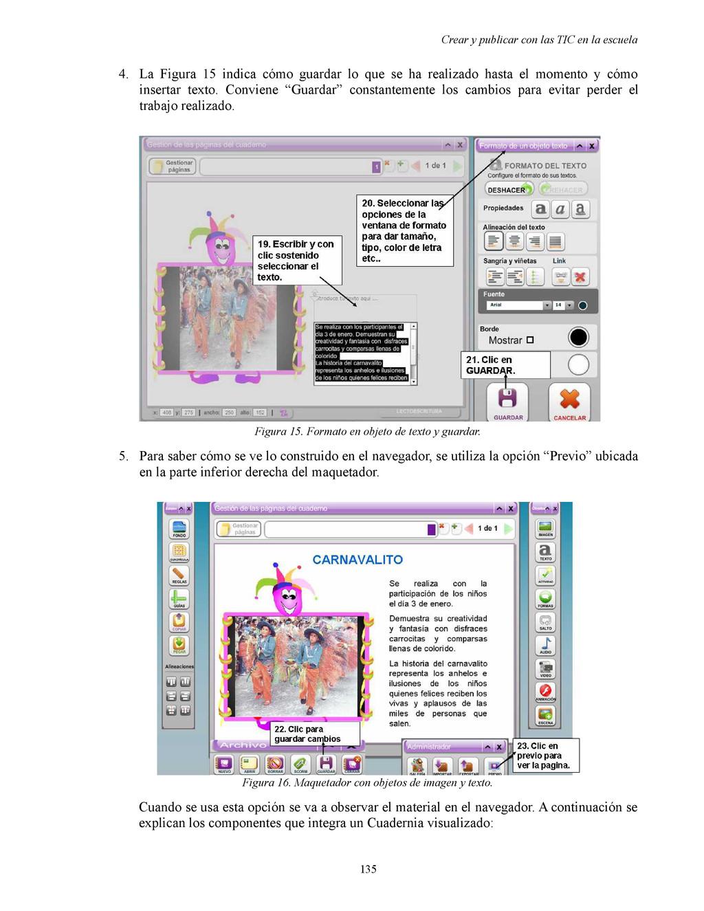 Crear y publicar con las TIC en la escuela 4. L...