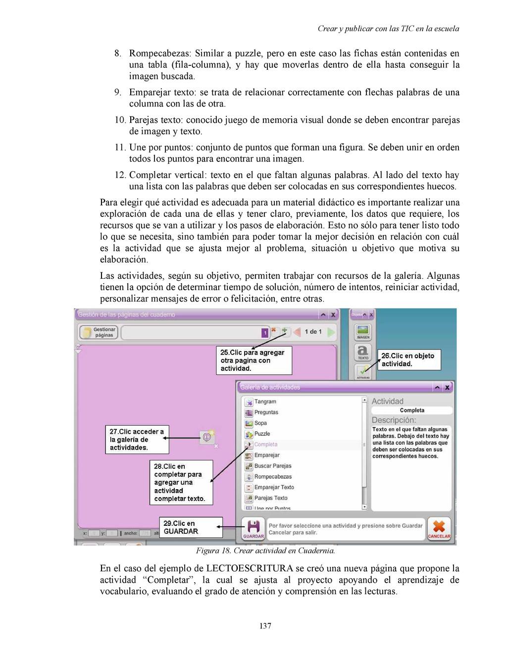 Crear y publicar con las TIC en la escuela 8. R...