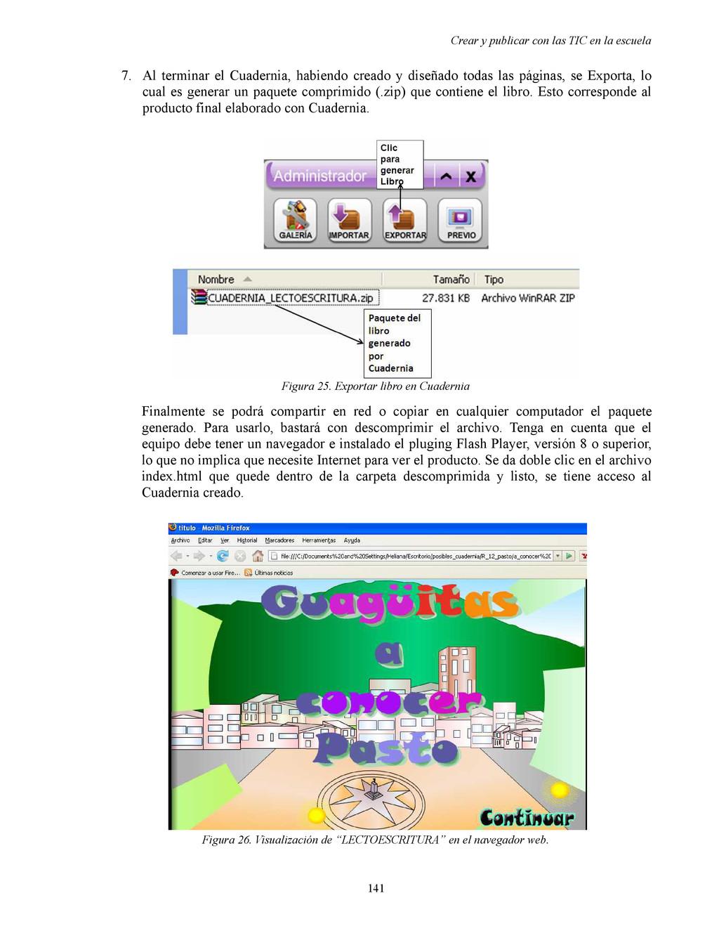 Crear y publicar con las TIC en la escuela 7. A...