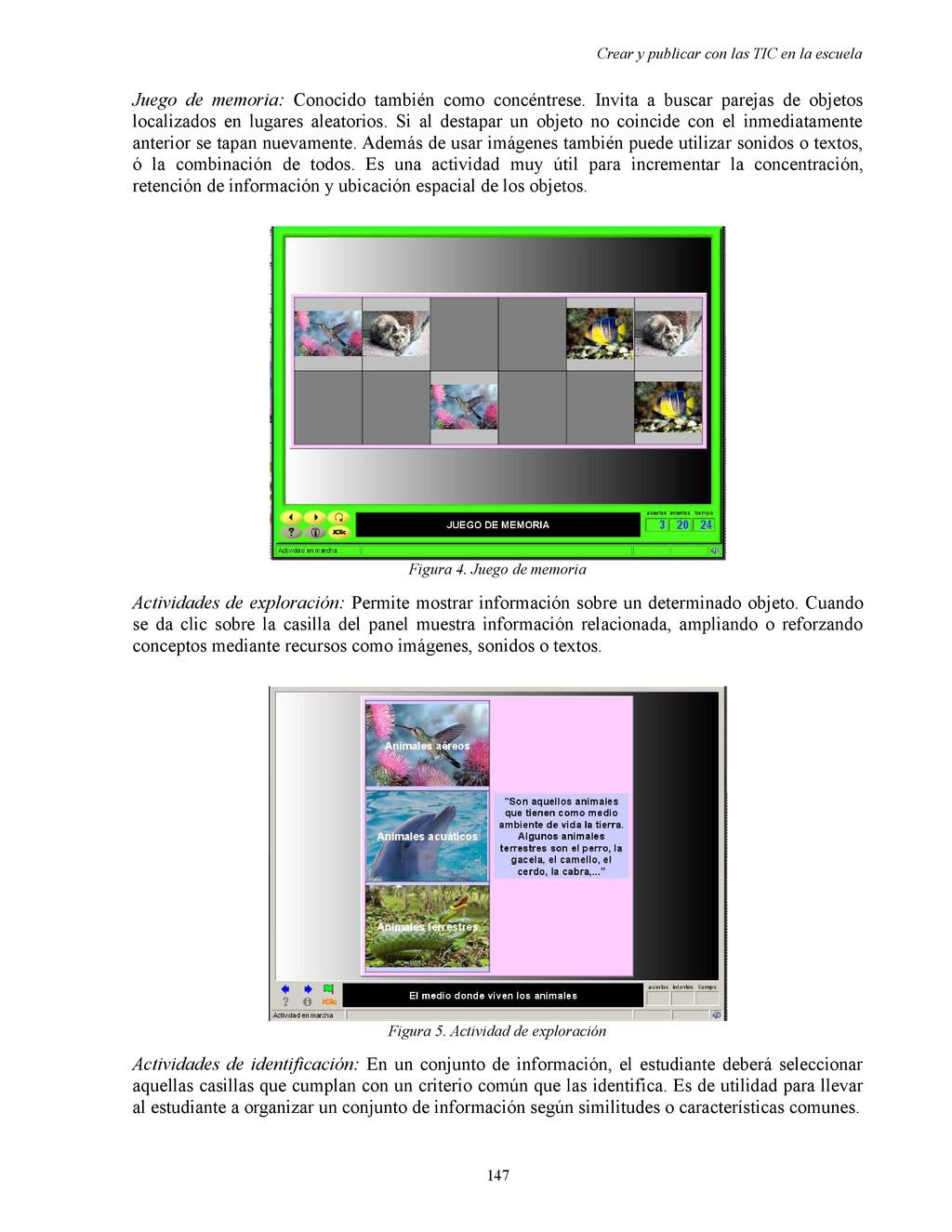 Crear y publicar con las TIC en la escuela Jueg...