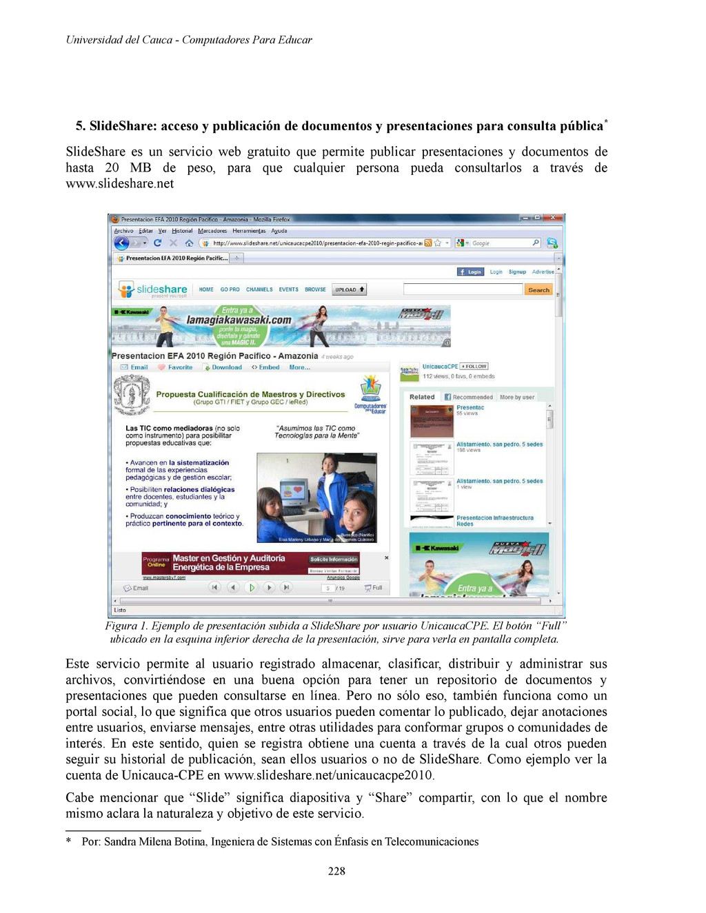 Universidad del Cauca - Computadores Para Educa...