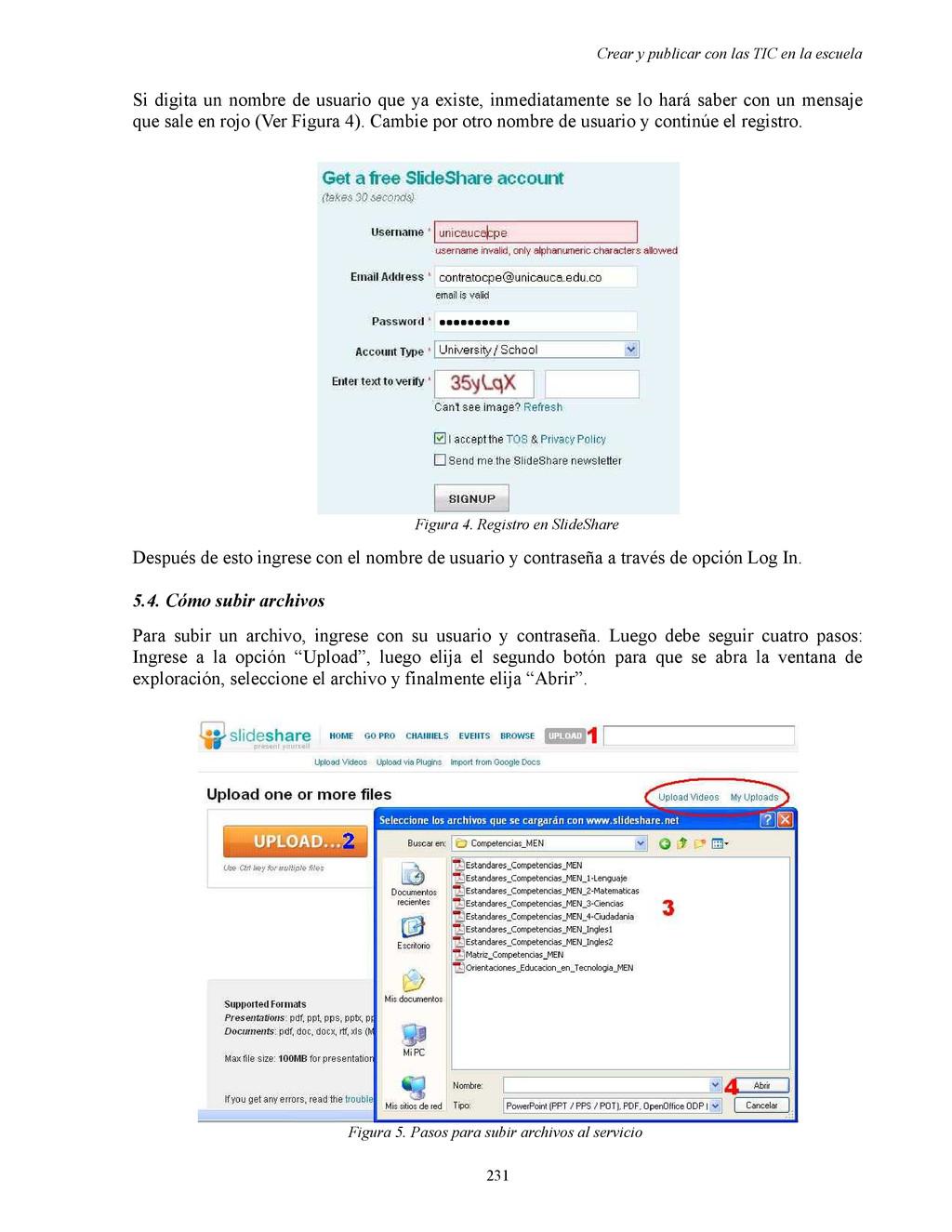 Crear y publicar con las TIC en la escuela Si d...
