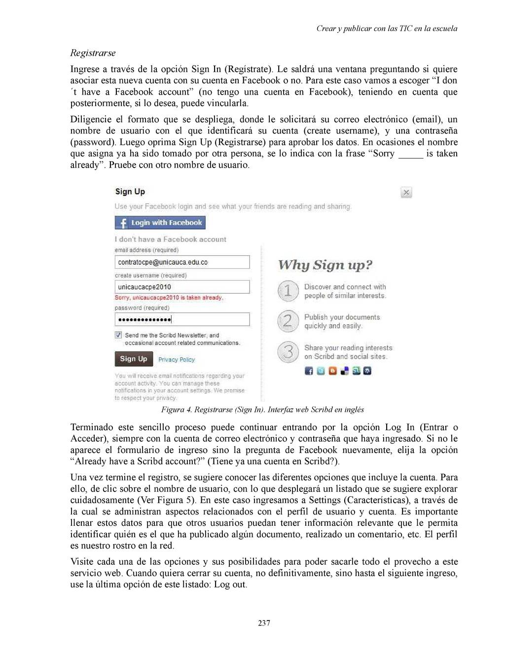 Crear y publicar con las TIC en la escuela Regi...
