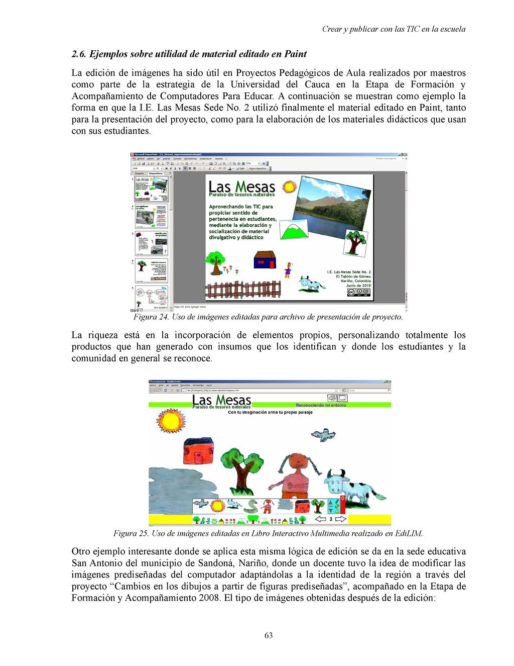 Crear y publicar con las TIC en la escuela 2.6....