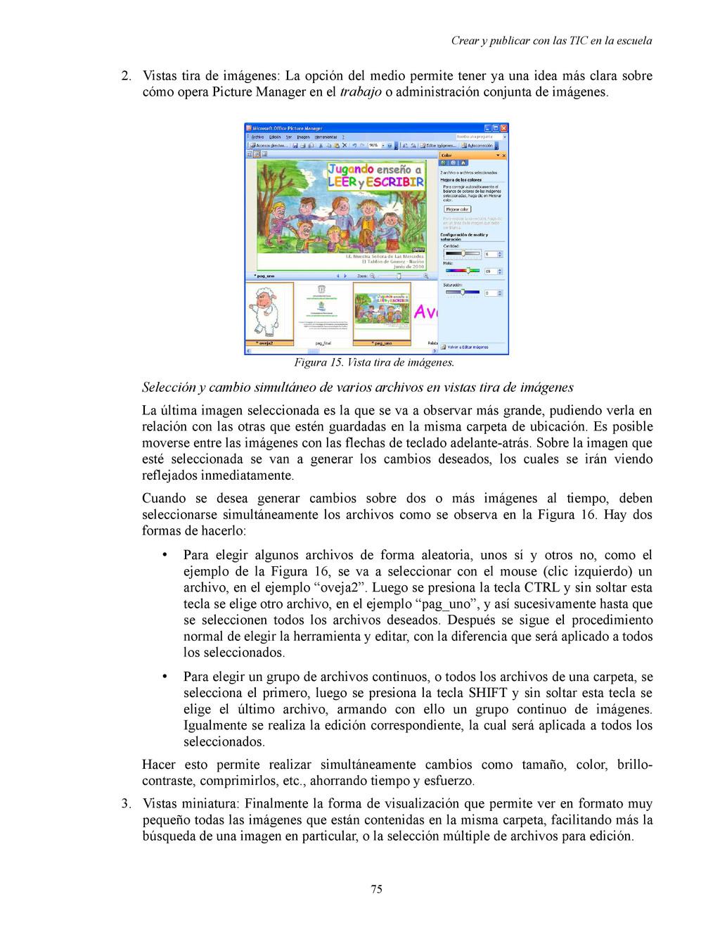 Crear y publicar con las TIC en la escuela 2. V...